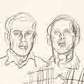Double Portrait (Study for Meeting)