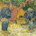 Morning figures, angophora trees and barracks wall
