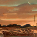 Study for low tide