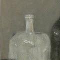 Pan and bottles