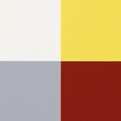 l. untitled (white yellow red grey)
