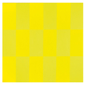 e. untitled yellow and yellow fluorescent light painting no.1
