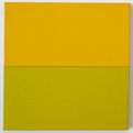Untitled Yellow and Yellow Green Painting